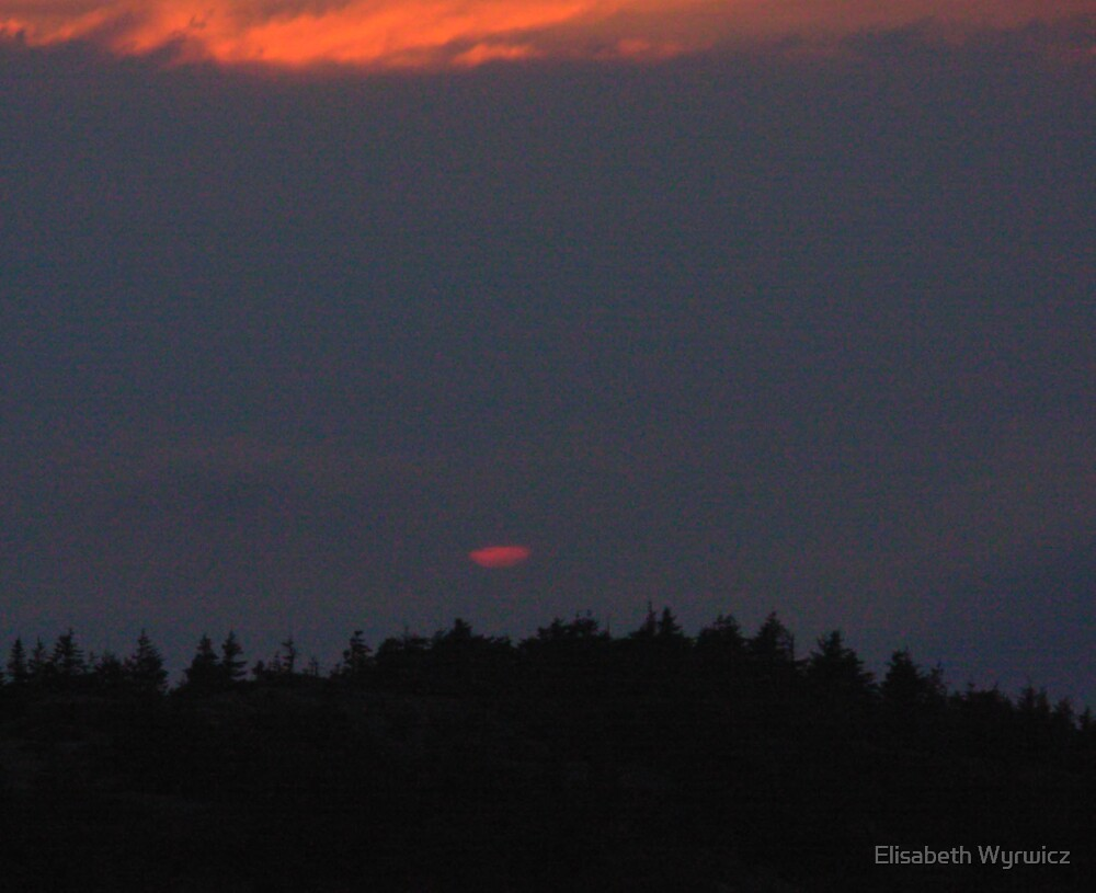 Cadillac Sunset by Elisabeth Wyrwicz