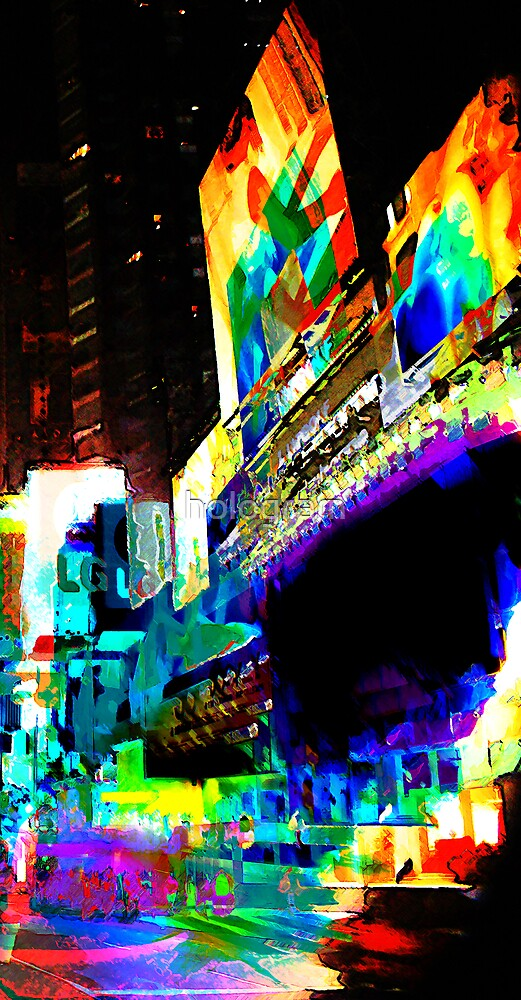 Colours of New York by hologram