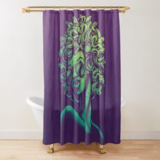 Funky Medusa Shower Curtain