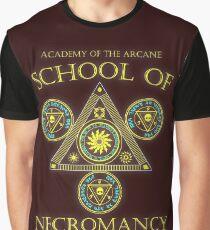 Academy of the Arcane: School of Necromancy RPG shirt Graphic T-Shirt