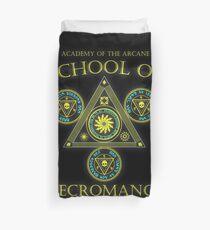 Academy of the Arcane: School of Necromancy RPG shirt Duvet Cover