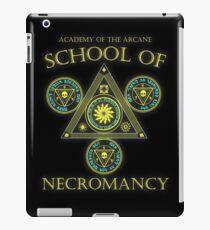Academy of the Arcane: School of Necromancy RPG shirt iPad Case/Skin