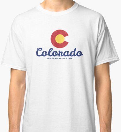 Colorado Badge Vintage Classic T-Shirt
