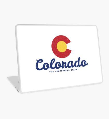 Colorado Badge Vintage Laptop Skin