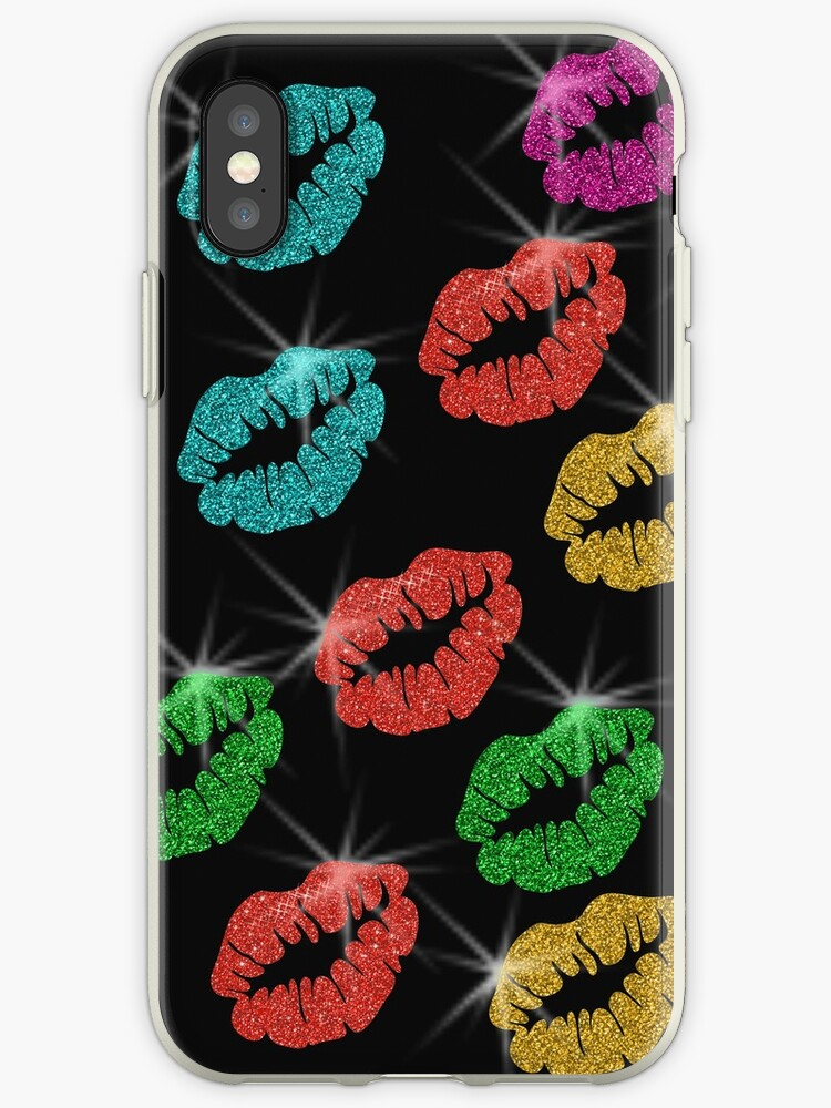 ef49799d61 Colorful Lips With Glitter (Faux) Lipstick