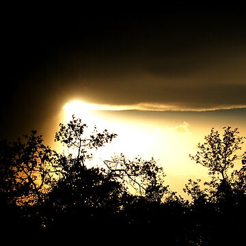 Sun and Storm. by CjbPhotography