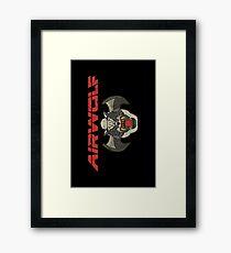 Airwolf Insignia Framed Print