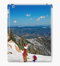 Calvin an Hobbes in Mountain Holiday iPad Case/Skin
