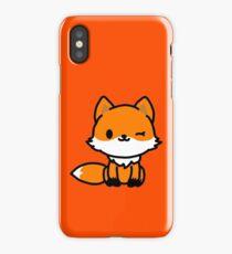 Cute Fox Cartoon iPhone Case/Skin