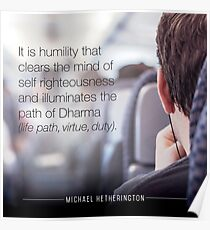 Humility Poster
