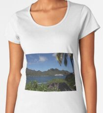 exotic visit to the Pacific islands Women's Premium T-Shirt