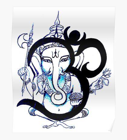 OM  Ganesha Poster