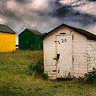 Beach Hut Series 1 by Amanda White