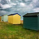 Beach Hut Series 2 by Amanda White