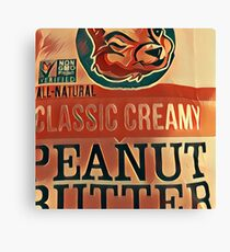Nuts About Peanuts Canvas Print