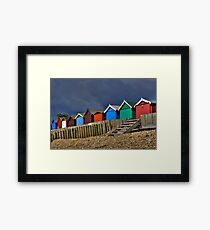 Beach Hut Series 10 Framed Print