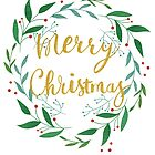Christmas 2017 lettering graphic by N E T H A R T I C
