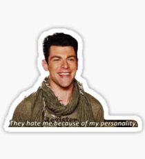 they hate me because of my personality  Sticker