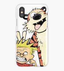 Calvin and Hobbes-Original iPhone Case/Skin
