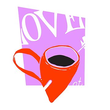 Coffee T-shirt for Coffee lovers- Love at first sip by yaystuff101