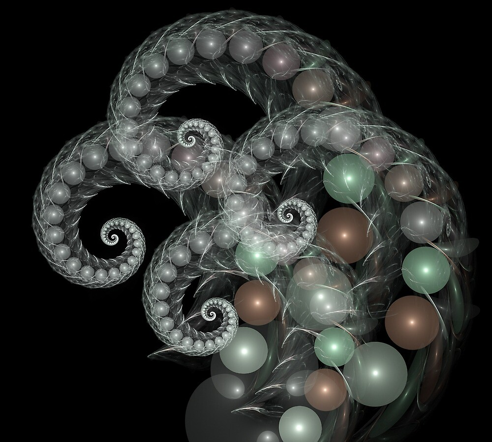 Pearl Curls by Pam Blackstone