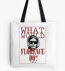 Bolsa de tela ¿Qué haría Florencia? Funny Florence Nightingale