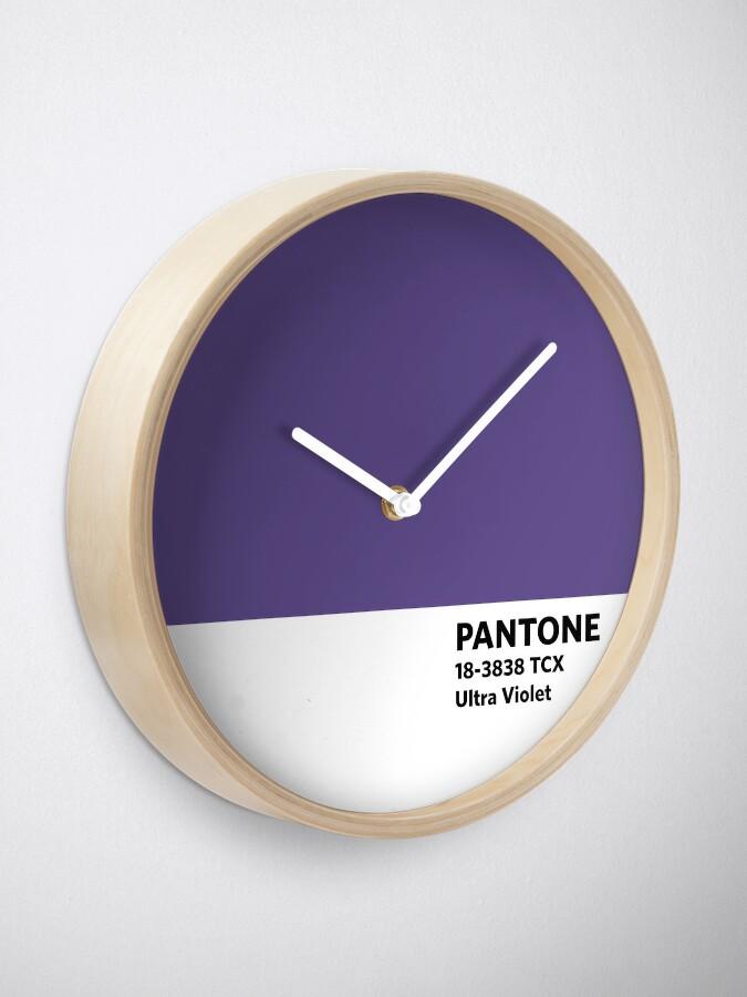 Alternative Ansicht von 2018 Pantone Farbe des Jahres - Ultra Violett Uhr