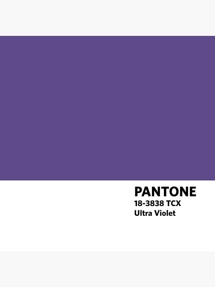 2018 Pantone Farbe des Jahres - Ultra Violett von Schmittly