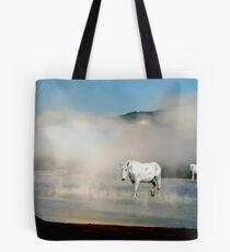 Unicorns in the Mist Tote Bag