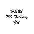 Hey No Talking Yet by Mark Wade