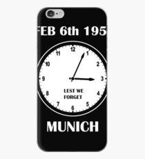 Man Utd - Munich iPhone Case
