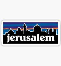 Jerusalem - Sunset Sticker