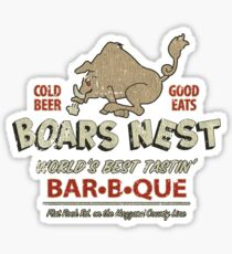 The Boars Nest Sticker
