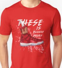 These Is Bloody Shoes (Red) Unisex T-Shirt