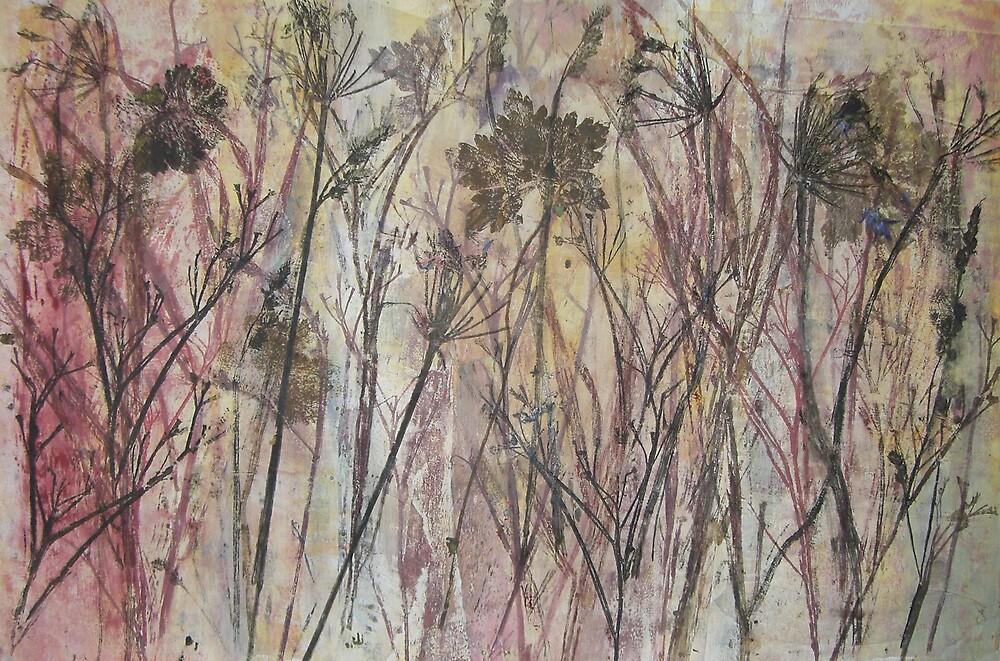 LEAVES II by Susan Duffey