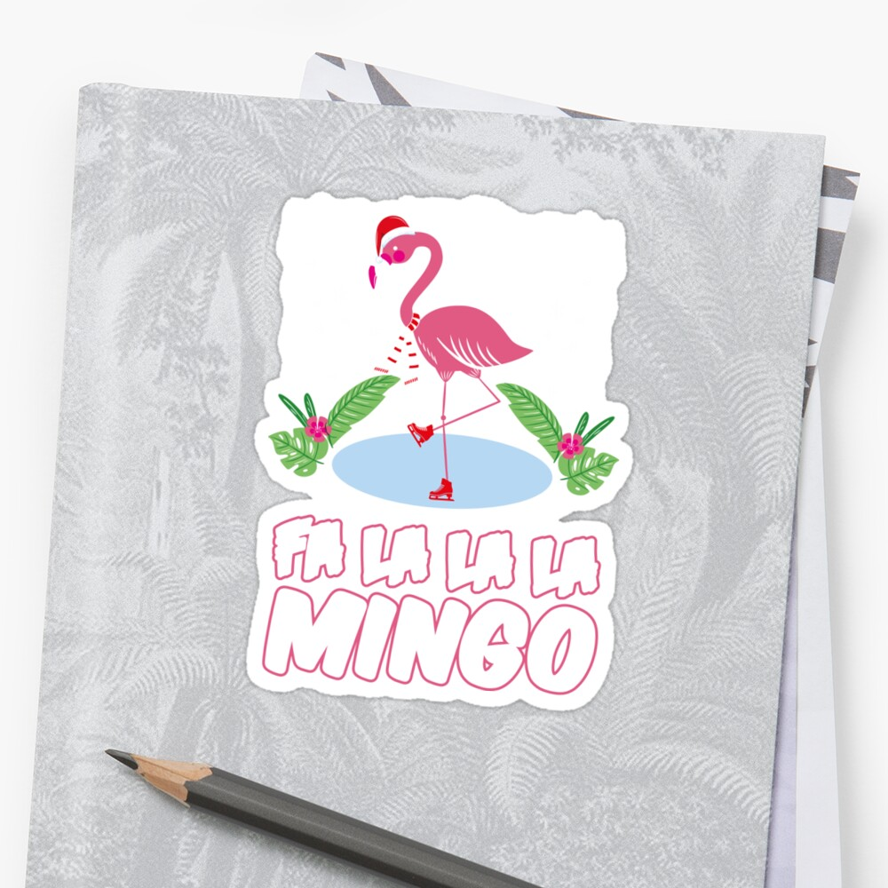flamingo ugly christmas sweater gift by artteez