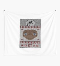 ET XMAS - ET Ugly Sweater Wall Tapestry
