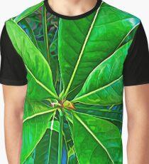 Nature Greenery Graphic T-Shirt