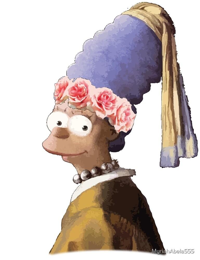 Vermeer's Marge by MyriahAbela555