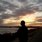 watching the Sunset, over the Seaway!!! by MardiGCalero