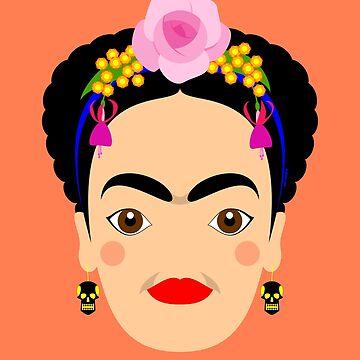 Frida Kahlo by handcuffed