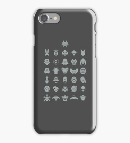 Mask Collection iPhone Case/Skin