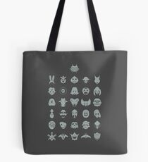 Mask Collection Tote Bag