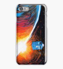 Time Travel Tardis iPhone Case/Skin