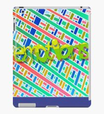 Emotions are striped and colorful. iPad Case/Skin