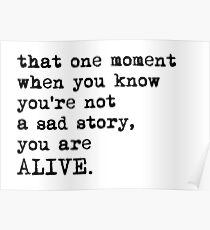You Are Alive Poster