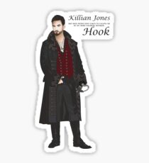 "Captain Killian ""Hook"" Jones Sticker"