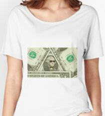 Hipster Nerd George Washington Women's Relaxed Fit T-Shirt