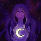 Moon Goddess by Diane  Pascual | The Gypsy Goddess