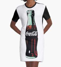 Vestido camiseta Botella de Coca-Cola Pop Art